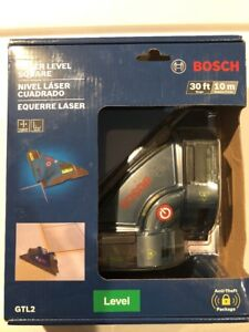 New Bosch Gtl2 Laser Square Accuracy Vertical Horizontal Level