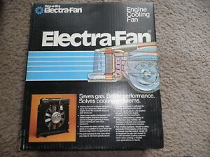 Electric Fan Kit New Flex A Lite With Adjustable Thermal Sensor Manual Overide