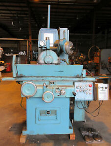 Galmeyer Livingston Automatic Surface Grinder Model 250 video Link Below