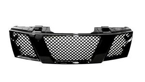 Fit For 05 08 Nissan Frontier 05 07 Pathfinder Honeycomb Grille Gloss Black
