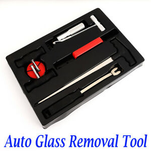 7 Pcs Windscreen Glass Removal Remover Car Van Windshield Garage Hand Tool Kit