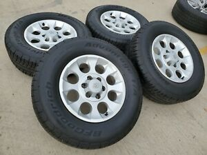 17 Toyota Tacoma 2017 2018 Oem Wheels Rims 2015 2016 4runner Fj New A t Tires