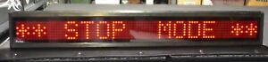 Led Self design Programmable Scrolling Message Display Board 30 x4 5x2in 1131