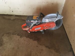 Husqvarna K760 14 Handheld Gas Power Cutter Concrete Cut Off Saw With Blade