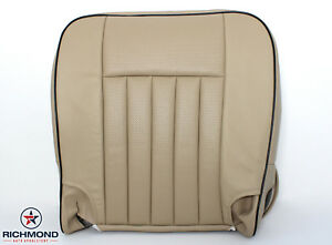 2006 Lincoln Navigator Ultimate Edition driver Bottom Leather Seat Cover Tan
