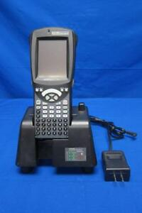 Psion Teklogix Workabout Pro Barcode Scanner W Dock Station