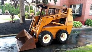 Case 1845c Skid Steer Loader 56hp Cummins Diesel Fully Serviced Foot Controls