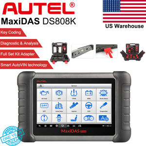 Autel Maxidas Ds808k Analysis System Oe level Auto Diagnostic Code Tool Scanner