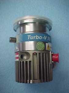 Varian V 70 Turbo Pump Model 969 9357 Very Clean Spins Freely