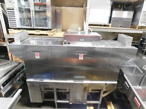 Hobart Stainless Steel Commercial Dishwasher