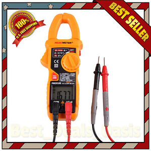 Clamp Meter Smart Digital Ac Multimeter Fluke Dc Voltage Rms Amp Scan Tester