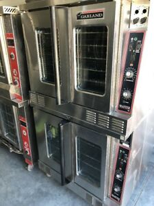 Garland Master 200 Double Stack Deck Electric Convection Oven Commercial Rolling
