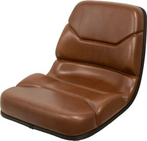 Case Backhoe Seat In Brown Replaces Oem B94116 For 580c 580d 580e 580k 580l Etc