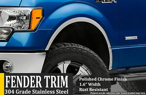 2004 2014 Ford F 150 without Oem Flares Fender Wheel Moldings