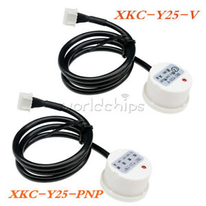 Liquid Water Level Sensor Induction Switch Detector Non contact Xkc y25 v y25pnp