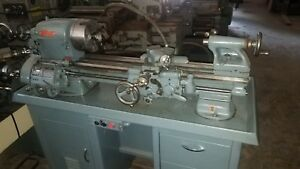 South Bend Lathe 1978 10 Swing Chucks Tool Post Collet Draw Tube