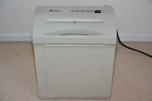 Fellowes Powershred Ps 60cc White Paper Crosscut Personal Document Shredder
