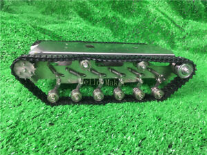 Assembled Stainless Steel Robot Tank Chassis Tracked Vehicle For Arduino Robotic