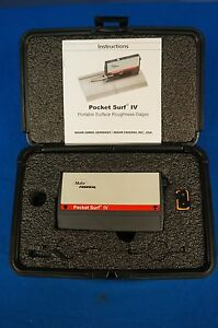 Mahr Pocket Surf Iv surface Finish roughness tester profilometer 90 Day
