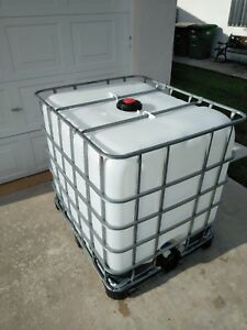 Water Tank 275 Gallon Used Once South Florida Only See Description
