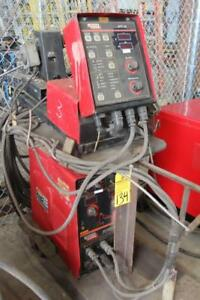 Lincoln Invertec Sttii Mig Welder W wire Feeder Lincoln Stt 10