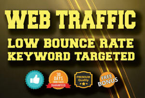 Keyword Targeted Website traffic With Long Visit Duration Usa Europe