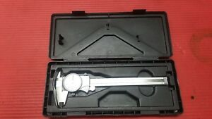 Excellent Mitutoyo 6 Inch Dial Caliper 505 675 machinist Tools