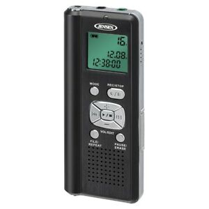 Digital Voice Recorder W Micro Sd Card Slot Security Safety Surveillance Accs