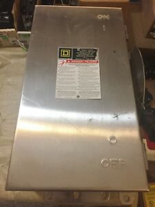 New Square D Hu362ds Non fused Safety Switch Stainless Heavy Duty Best Price