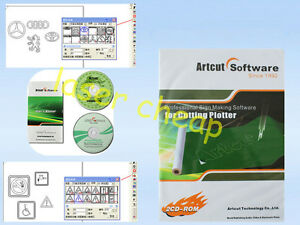 Artcut 2009 Sign Making Software 9 Languages For Vinyl Cutting Cutter Plotter