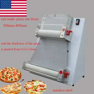 Steel Pizza Dough Roller Machine Pizza Making Machines Dough Sheeter Free Ship