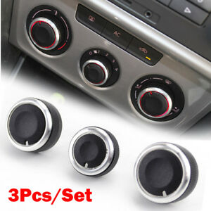 For Vw Golf Plus Rabbit Beetle A5 Ac Heater Climate Control Switch Panel Knobs