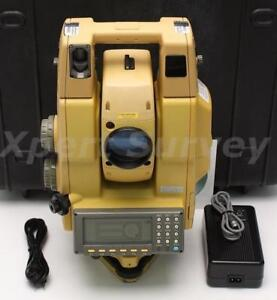 Topcon Gpt 8005a 5 Auto Tracking Reflectorless Total Station 8005a Gpt 8000a