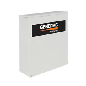 Generac 200 amp Automatic Transfer Switch 120 240v 3 phase