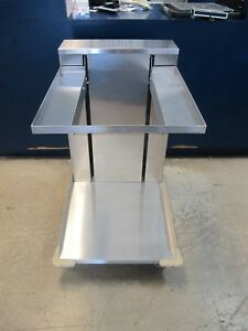 Apw Ctr12 2020 Mobile Cup Glass Dispenser For 20 X 20 Racks All Stainless