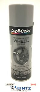 Duplicolor Hwp101 High Perf Silver Wheel Rim Coating Paint Restore Restyle
