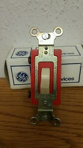c General Electric 5954 2g 120 To 277 Volt 20 A Toggle Light Switch qty 8