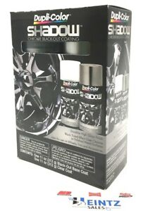 Duplicolor Shd1000 Shadow Chrome Black Out Coating Blackout Base Clear Coat