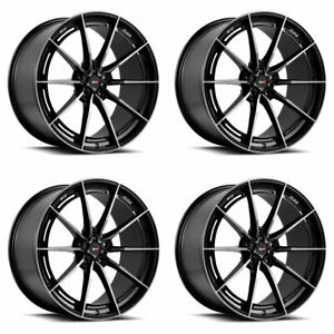 20 Savini Sv F1 Forged Tinted Concave Wheels Rims Fits Maserati Ghibli