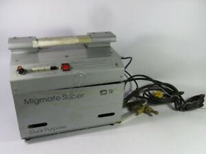 Sip Migmate Super Dual Purpose Wire Welder Machine Used