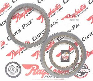 Gm 6l80 Transmission High Energy Friction Module Clutch Packs Raybestos 2006 up