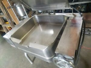 Tilt Skillet 20 Gallon Electric Braising Pan Groen Single Phase Manual Tilt