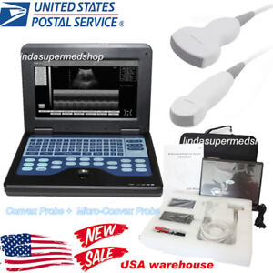 Digital Laptop notebook Ultrasound Scanner Medical Diagnostic Machine Contec Us
