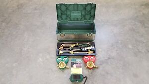 Victor Journeyman 0384 2009 Extra Heavy Duty Cutting Torch Kit With Tool Box