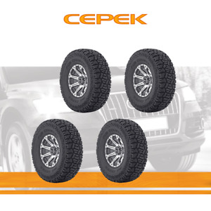 4pcs Dick Cepek Tyres Lt305 60r18 Tires 305 60 121 3 Ply All Terrain