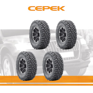 4pcs Dick Cepek Tyres Lt305 60r18 Tires 305 60 121 2 Ply Mud Terrain
