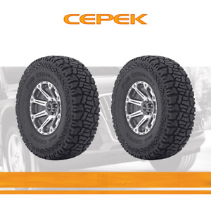 2pcs Dick Cepek Tyres Lt305 65r17 Tires 305 65 121 3 Ply All Terrain