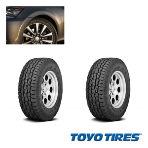 2pcs Toyo Tyres Open Country r A t Ii Lt325 60r18 Tires 325 60 18 2 Ply