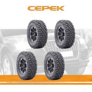 4pcs Dick Cepek Tyres Lt305 65r17 Tires 305 65 17 121 2 Ply Mud Terrain