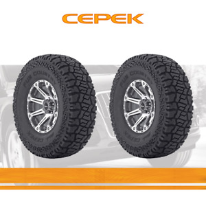 2pcs Dick Cepek Tyres Lt305 60r18 Tires 305 60 121 3 Ply All Ter